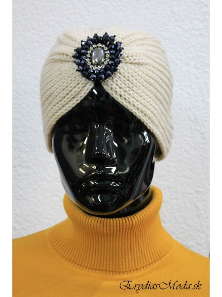 Turban Diamond béžový BD220