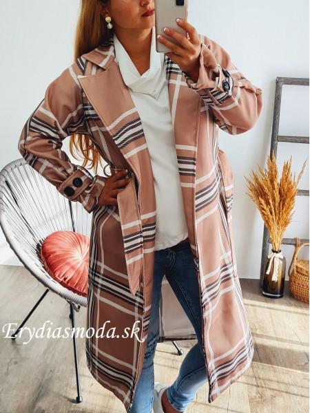 Kabát kockovaný Amadeus 3696