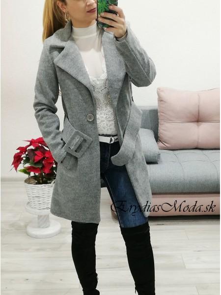 Kabát Brilliant sivý 41552