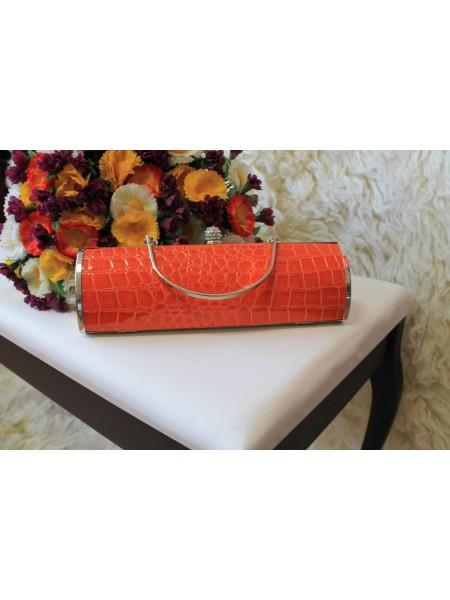 Kabelka clutch oranžová V015