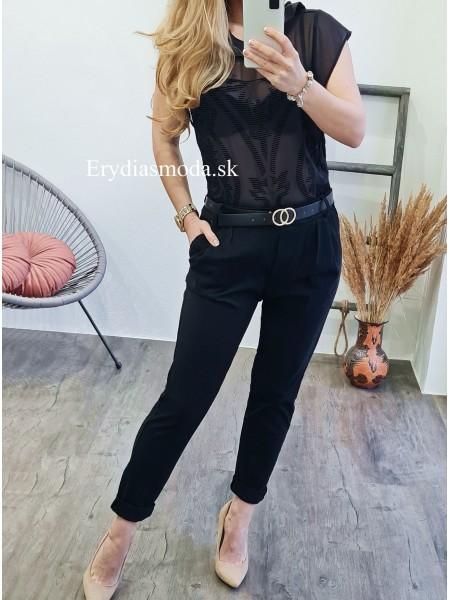 Čierne nohavice Smash 75101
