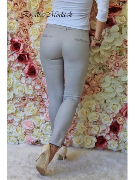 Nohavice Tiffany sivé 18939