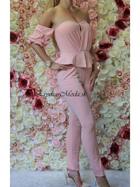 Overal ružový Rosie MB801