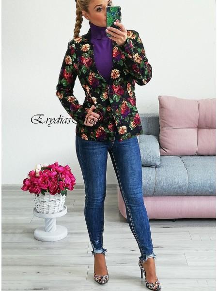 Kvetované sako Flowers 180A