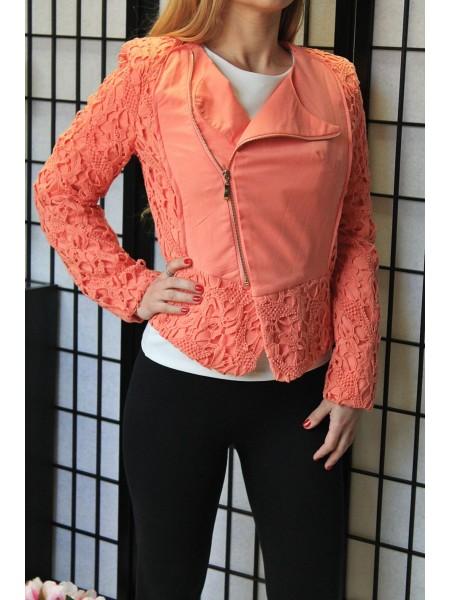 Bundička oranžová krajka 12600