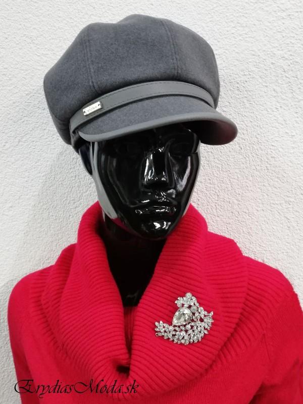 Sivá baretka Robin 56