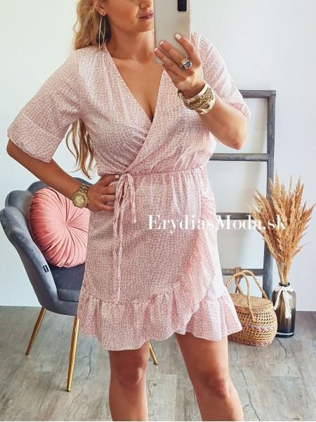 Letné šaty Aruba ružové A558