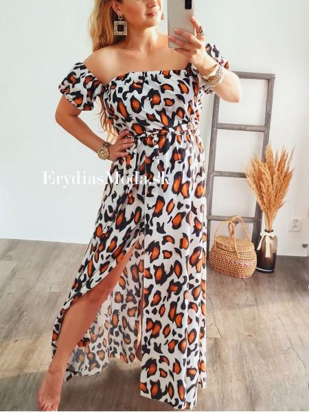 Biele šaty Safari 8411