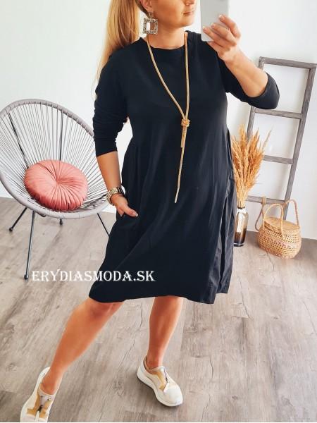 Šaty Bella čierne 8098