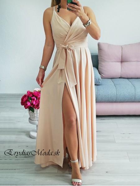 Spoločenské šaty Naomi zlaté P319