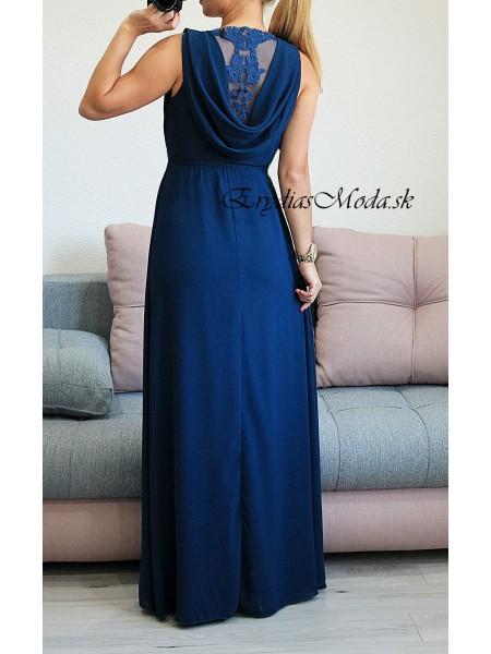 Spoločenské šaty Luissa tmavomodré 8418