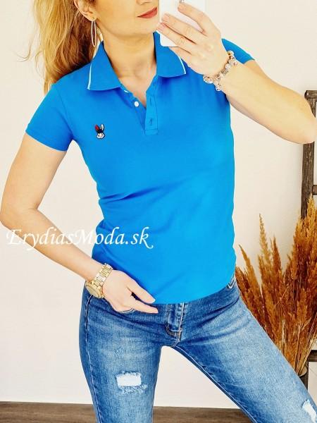 Polo tričko Zaira modré 8008