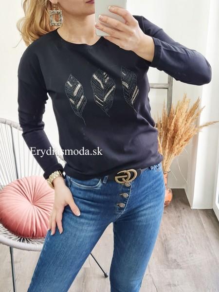 Čierne tričko pierka 67457