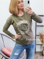 Tričko Vogue zelené 67420