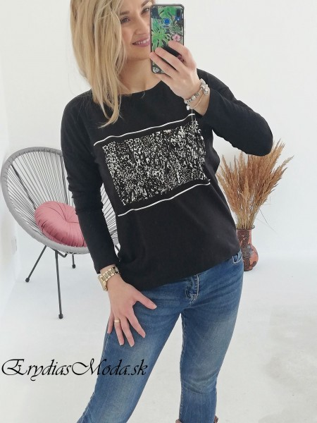 Čierne tričko Passion 67450