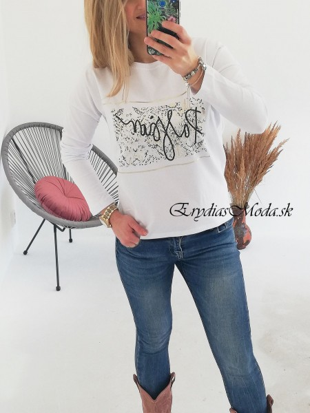 Biele tričko Passion 67450